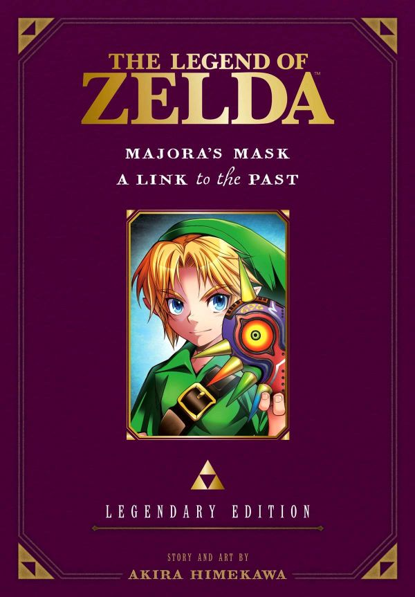 Legend of Zelda: Legendary Edition Volume 3: Majora's Mask / A Link to the Past