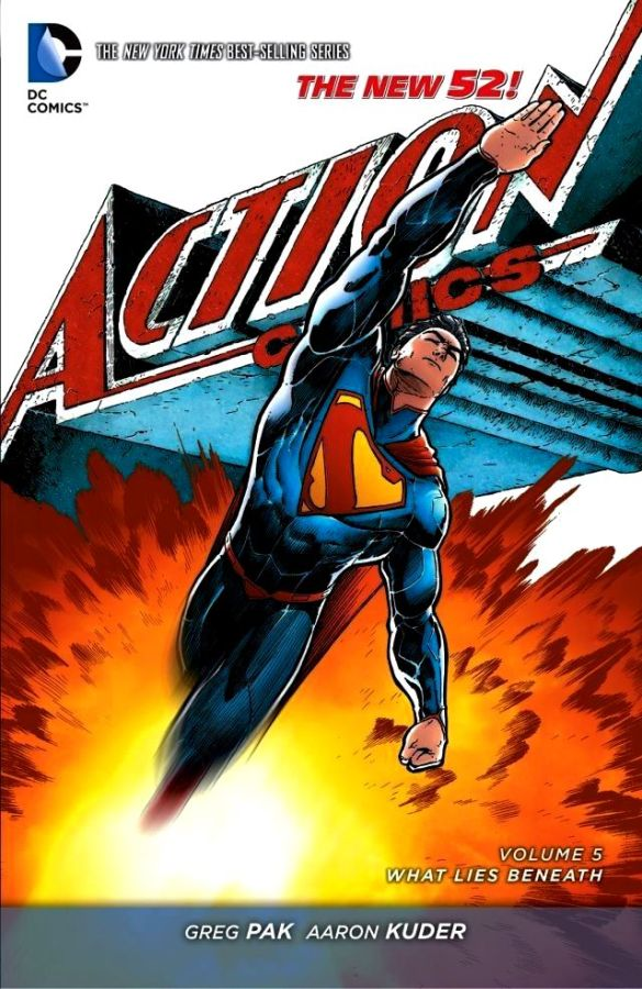 Action Comics (The New 52) Volume 5: What Lies Beneath