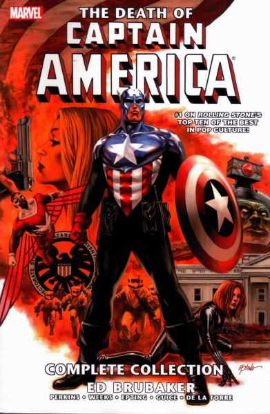 Captain America: The Death of Captain America - Complete Collection