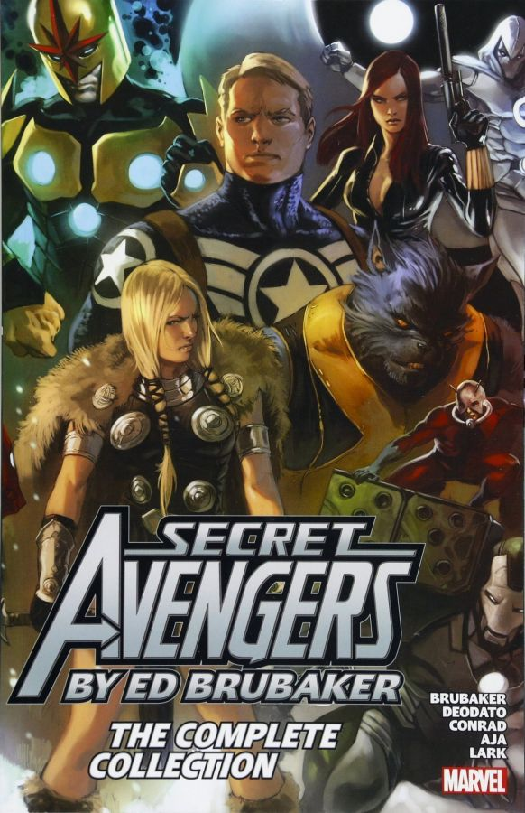 Secret Avengers (2010) by Ed Brubaker - The Complete Collection