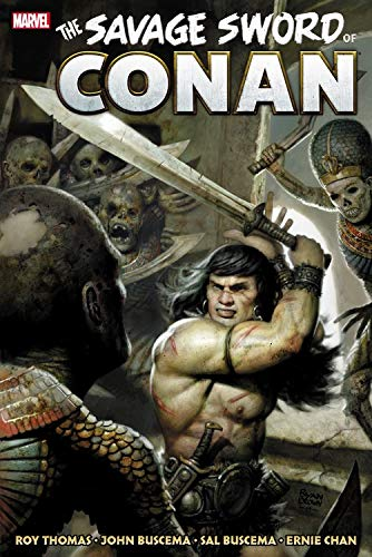 Savage Sword of Conan: The Original Marvel Years Omnibus Volume 3 HC