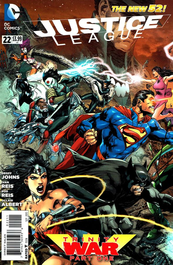 Justice League (The New 52) #22