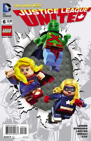 Justice League United (The New 52) #06 Lego Variant