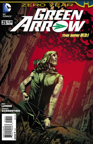 Green Arrow (The New 52) #25