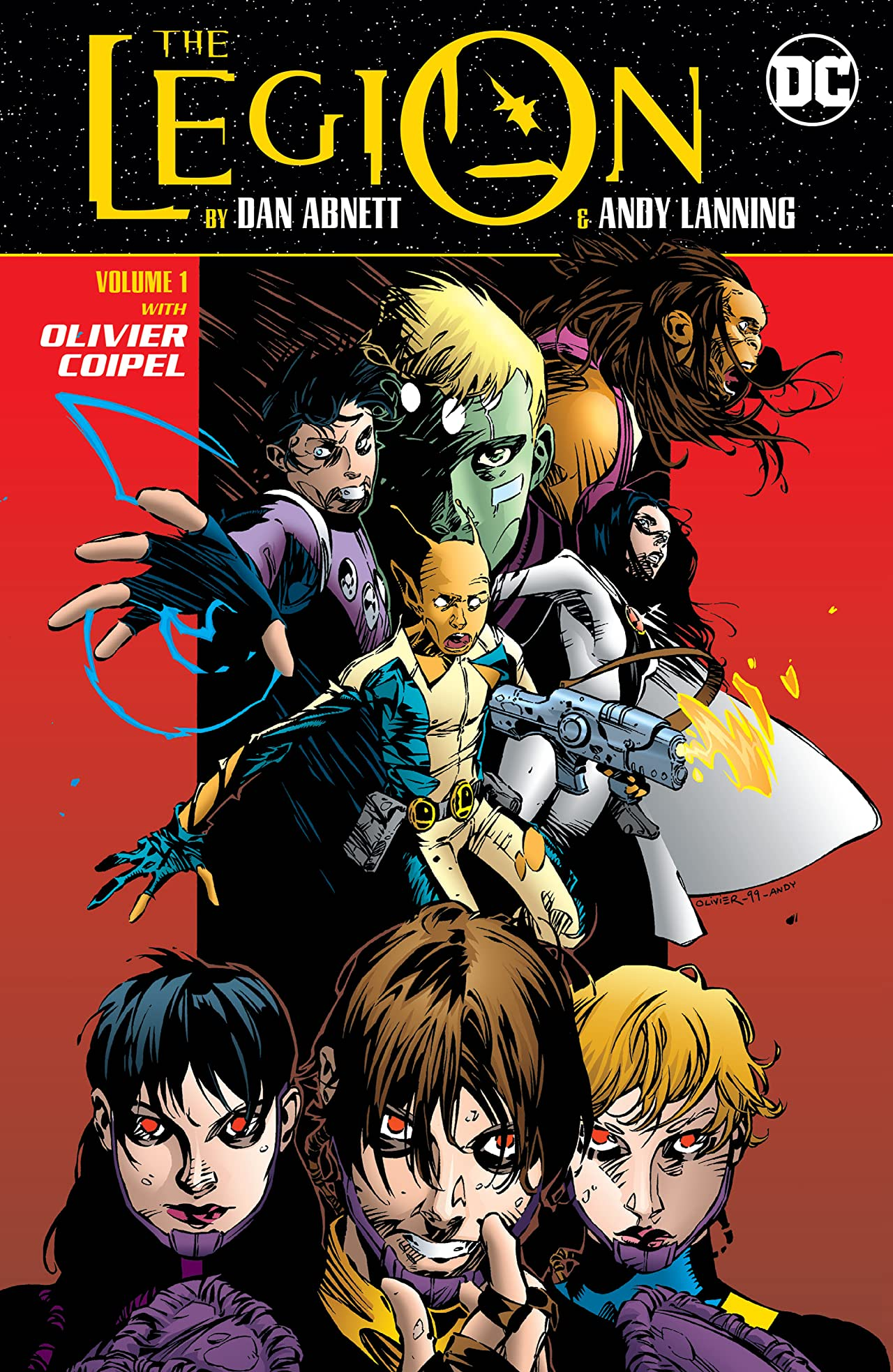 Legion by Dan Abnett & Andy Lanning Volume 1