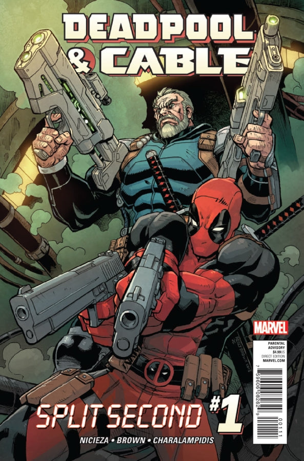 Deadpool & Cable Split #1