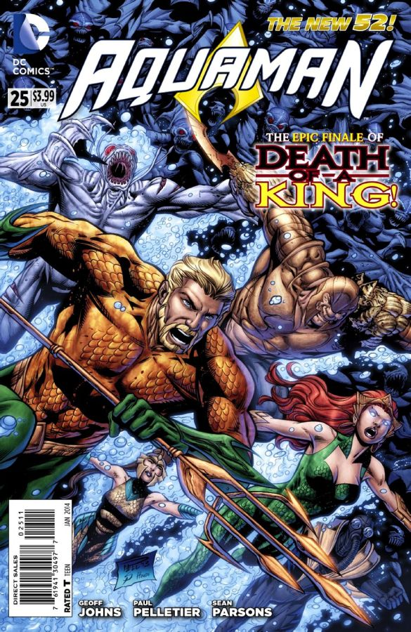 Aquaman (The New 52) #25