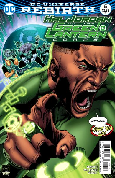 Hal Jordan and the Green Lantern Corps (DC Universe Rebirth) #5