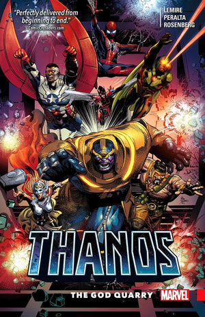 Thanos (2016) Volume 2: The God Quarry