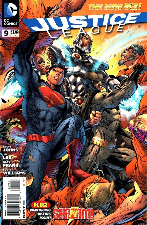 Justice League (The New 52) #09