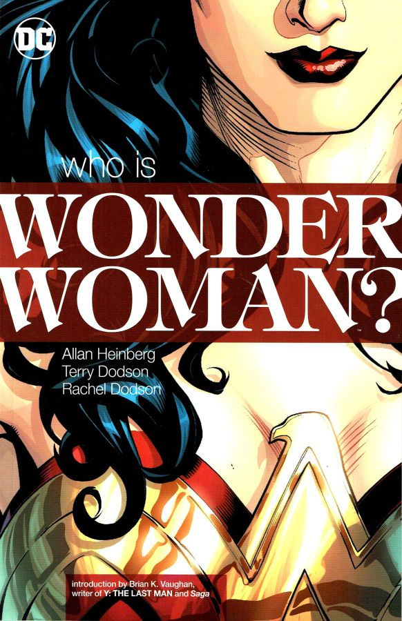 Wonder Woman Who Is New Print
