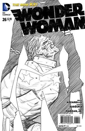 Wonder Woman (The New 52) #26 Black & White Variant