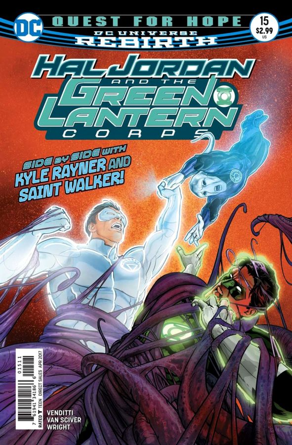 Hal Jordan and the Green Lantern Corps (DC Universe Rebirth) #15