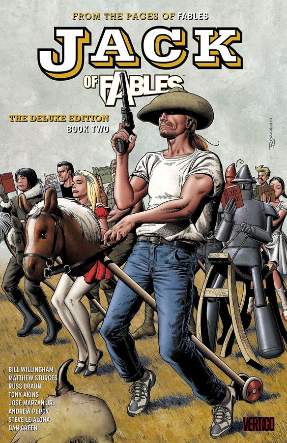 Jack of Fables - The Deluxe Edition Book 2 HC