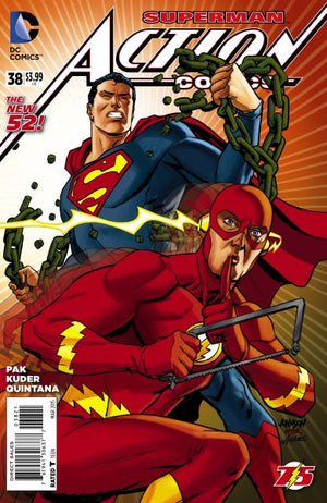 Action Comics (The New 52) #38 Flash Variant