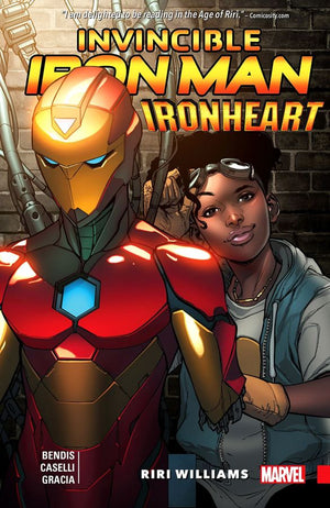Invincible Iron Man (2016) Ironheart Volume 1: Riri Williams