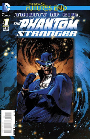 Futures End TOS Phantom Stranger 3D Cover