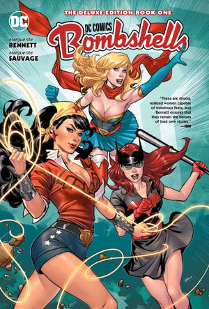 DC Comics Bombshells - The Deluxe Edition Book 1 HC
