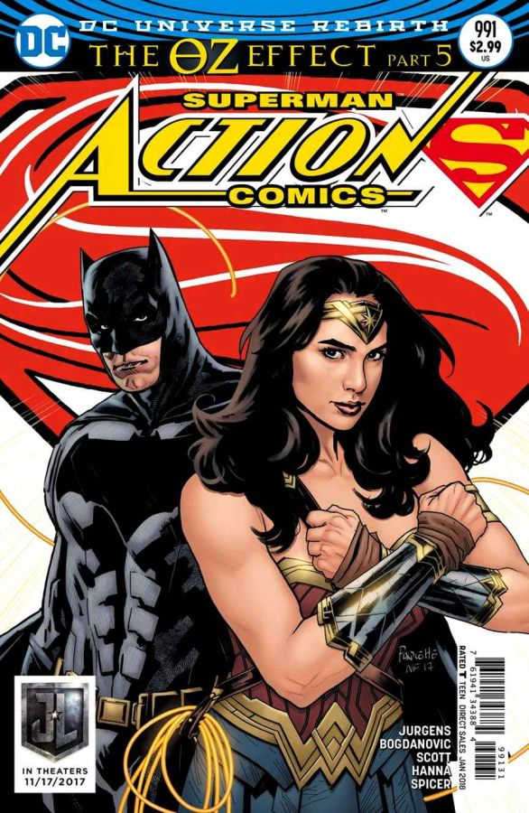 Action Comics (DC Universe Rebirth) #991 Variant