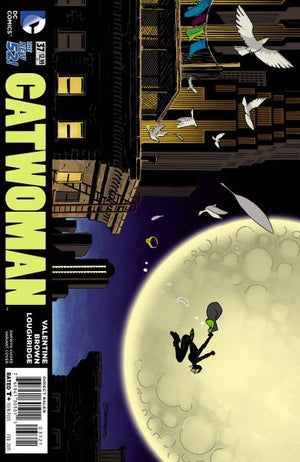 Catwoman (The New 52) #37 Darwyn Cooke Cover