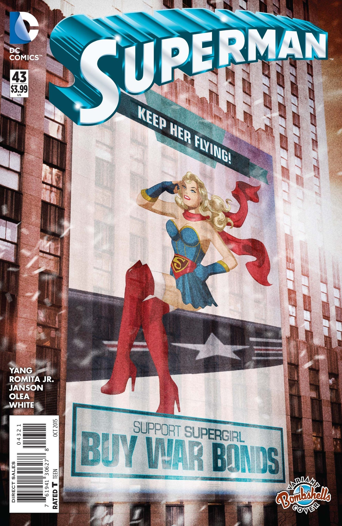 Superman (The New 52) #43 DC Bombshells Variant