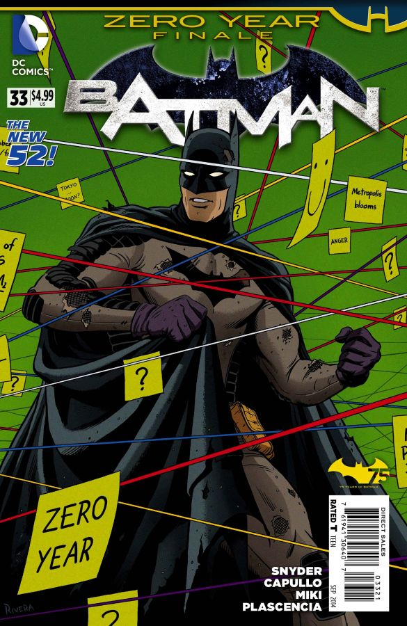 Batman (The New 52) #33 Variant