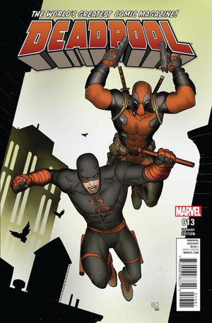 Deadpool (2015) #13 Daredevil Cover