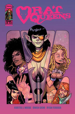 Rat Queens (2017) #09 del Duca Cover