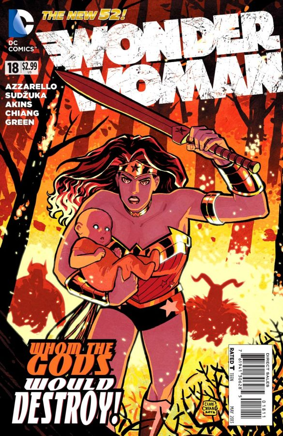 Wonder Woman (The New 52) #18