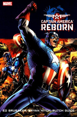 Captain America Reborn - Bryan Hitch Cover