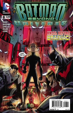 Batman Beyond Universe (2013) #08