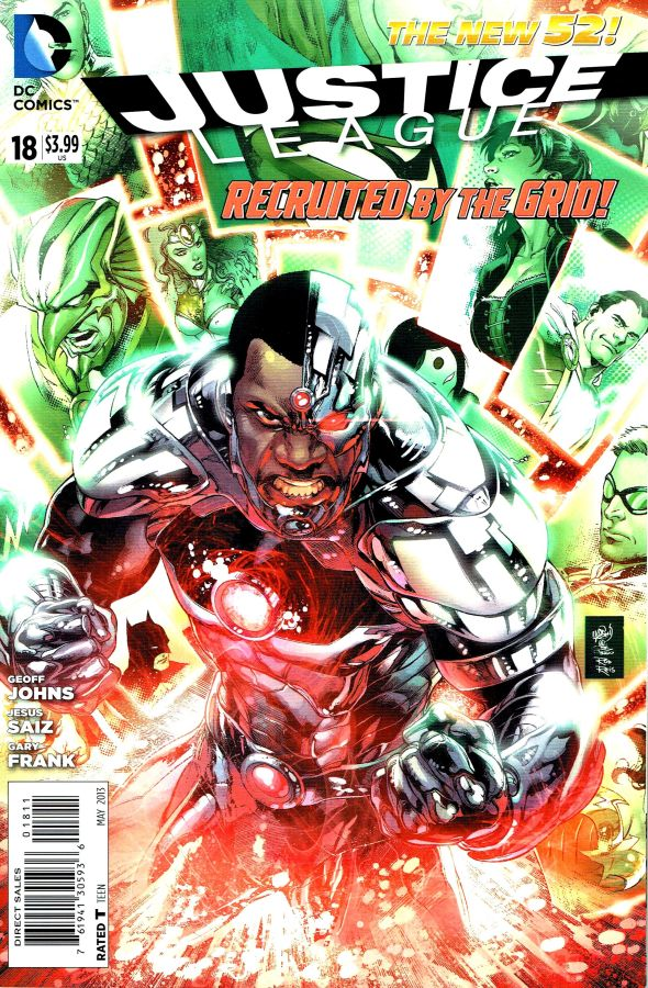 Justice League (The New 52) #18