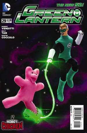 Green Lantern (The New 52) #29 Robot Chicken Variant