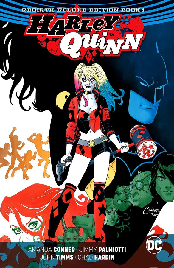 Harley Quinn - The Rebirth Deluxe Edition Book 1 HC