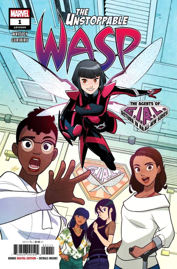 Unstoppable Wasp (2018) #1