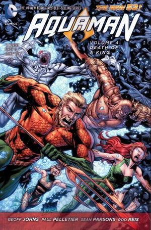 Aquaman (The New 52) Volume 4: Death of a King