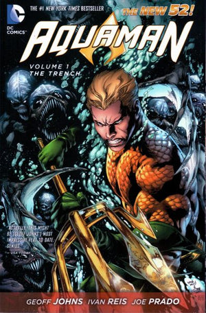 Aquaman (The New 52) Volume 1: The Trench