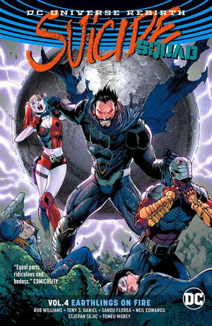 Suicide Squad (DC Universe Rebirth) Volume 4: Earthlings on Fire