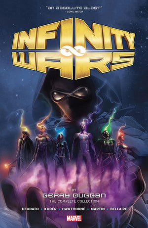 Infinity Wars by Gerry Duggan - The Complete Collection HC