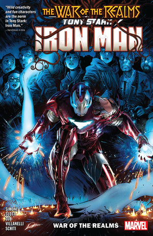 Tony Stark: Iron Man (2018) Volume 3 - War of the Realms