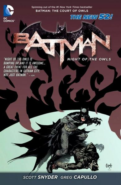 Batman (The New 52): Night of the Owls