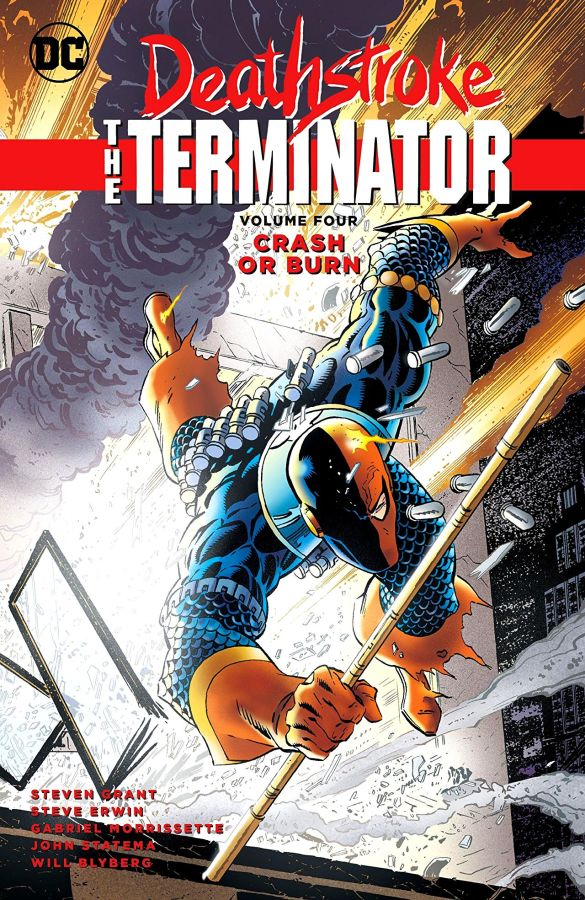 Deathstroke The Terminator Volume 4: Crash or Burn