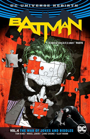 Batman (DC Universe Rebirth) Volume 04: The War of Jokes and Riddles
