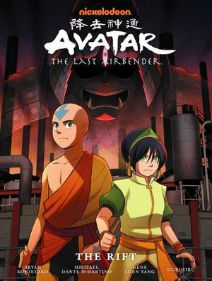 Avatar: The Last Airbender - The Rift Library Edition HC
