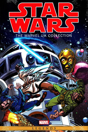 Star Wars The Marvel UK HC
