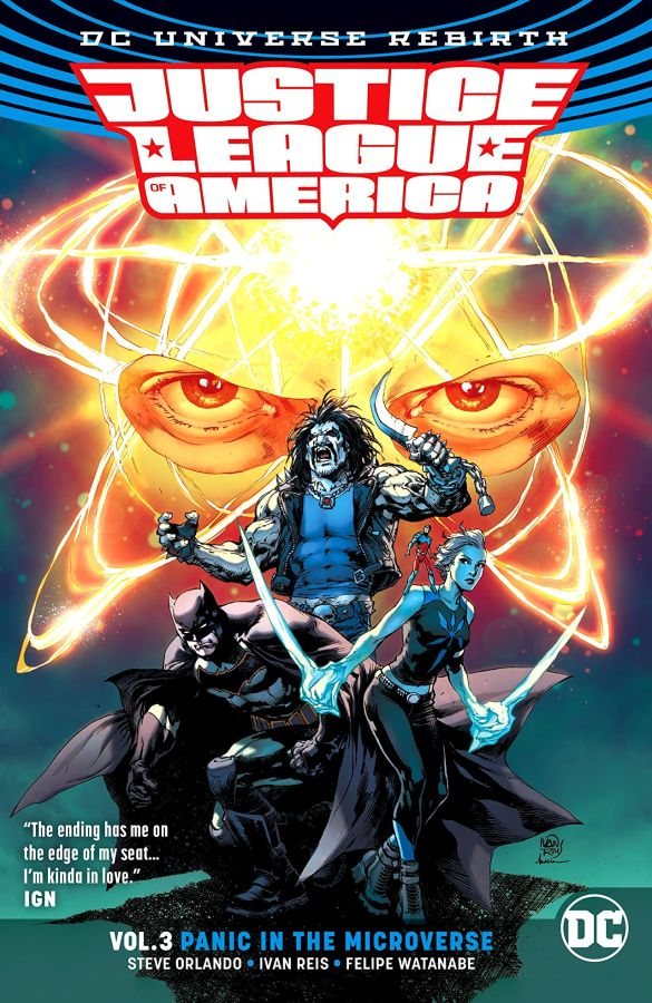Justice League of America (DC Universe Rebirth) Volume 3: Panic in the Microverse