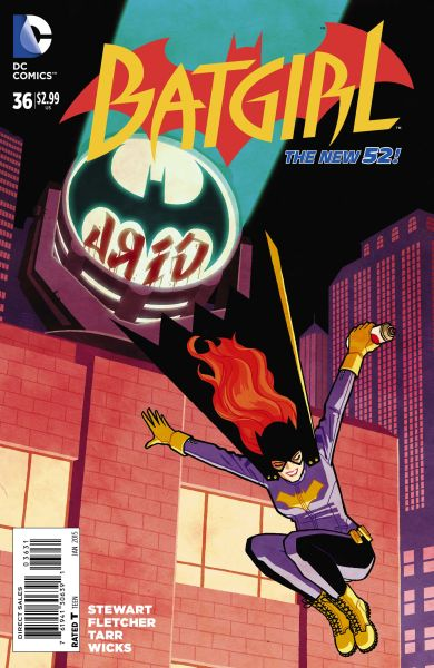Batgirl (The New 52) #36 Variant