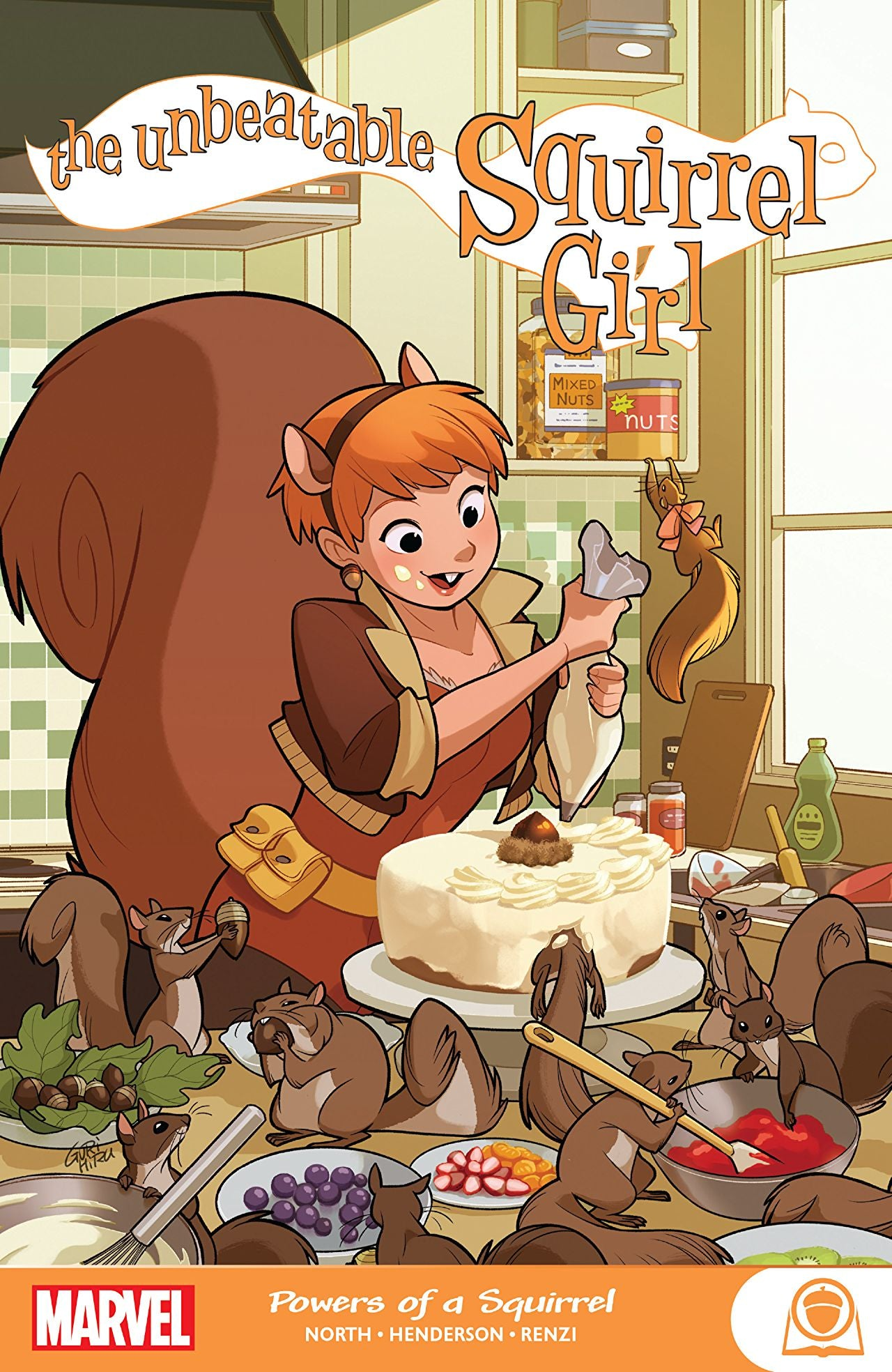 Unbeatable Squirrel Girl (2015): Powers of a Squirrel