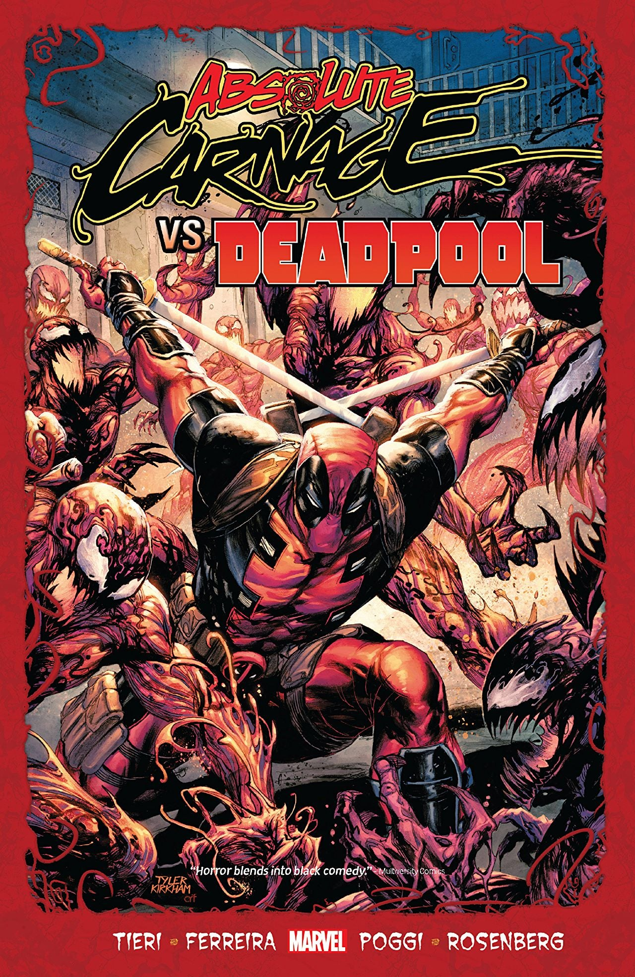 Absolute Carnage (2019) Vs Deadpool