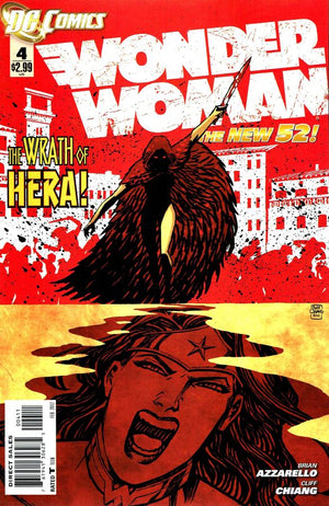 Wonder Woman (The New 52) #04